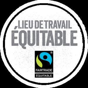 La Fédération des Communautés Culturelles de l'Estrie est fière d'avoir obtenue la désignation Lieu de travail équitable délivrée par Fairtrade Canada, l'Association québécoise du commerce équitable et le Réseau canadien du commerce équitable.